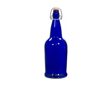BOTTLE - 1/2 LITER - BLUE SWING TOP GROLSCH (12/CASE)