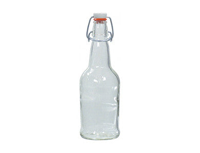 BOTTLE - 1/2 LITER - CLEAR SWING TOP GROLSCH BOTTLES (12/CASE)