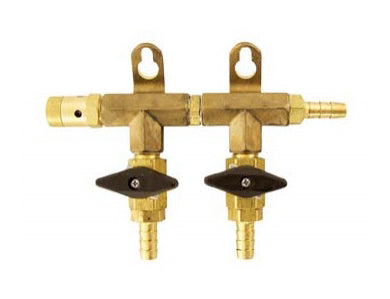 GAS MANIFOLD - 2 WAY