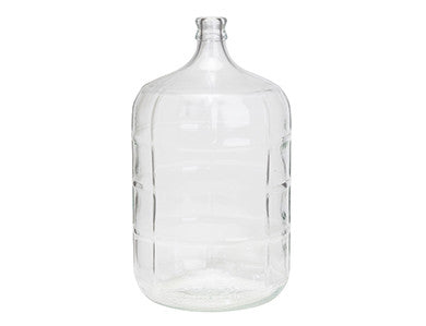 FERMENTER - GLASS CARBOY - 6 GALLON