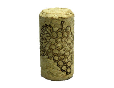 CORK - 8 X 1-3/4 FIRST QUALITY STRAIGHT WINE CORKS 44 X 22mm (30/BAG)