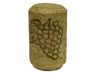 CORK - 9 X 1-1/2 FIRST QUALITY STRAIGHT WINE CORKS 38 X 23mm (30/BAG)