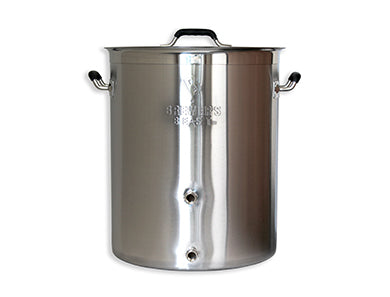 KETTLE - BREWER'S BEST 16 SS GALLON WITH 2 PORTS