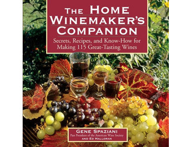 THE HOME WINEMAKER'S COMPANION (HALLORAN)