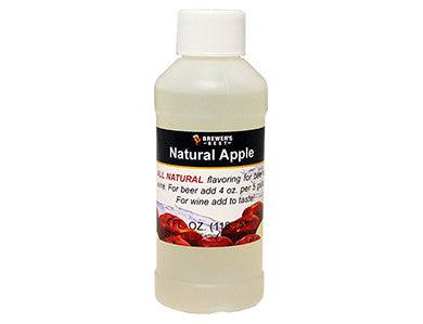 APPLE FLAVORING EXTRACT (4 OZ)
