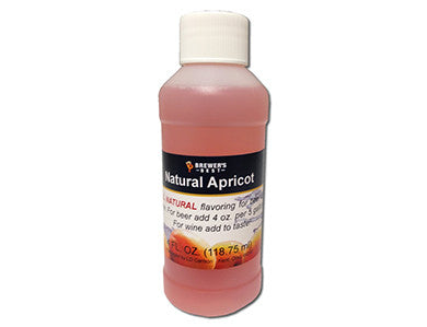 APRICOT FLAVORING EXTRACT (4 OZ)