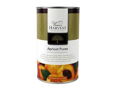 VINTNER'S HARVEST APRICOT FRUIT PUREE (49 OZ)