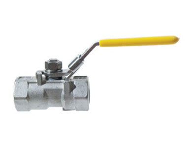 "BALL VALVE - 3/8"" FULL PORT - STAINLESS"
