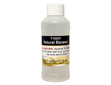 BANANA FLAVORING EXTRACT (4 OZ)