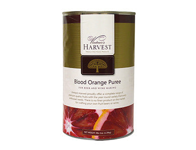 VINTNER'S HARVEST BLOOD ORANGE FRUIT PUREE - (49 OZ)