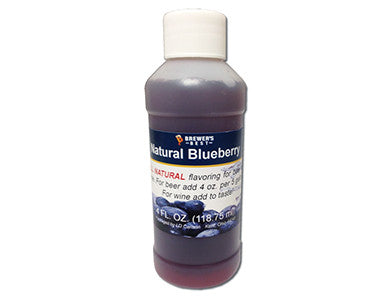 BLUEBERRY FLAVORING EXTRACT (4 OZ)