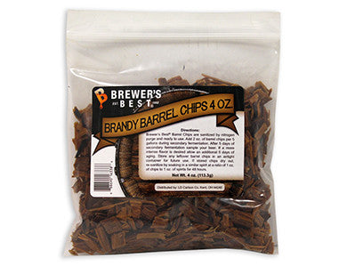 BREWER'S BEST BRANDY BARREL CHIPS (4 OZ)