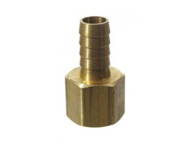 "BARB - 1/2"" FPT X 1/2"" - BRASS"