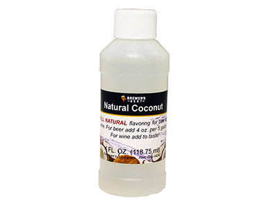 COCONUT FLAVORING EXTRACT (4 OZ)