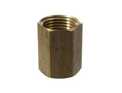 "COUPLER - 1/2"" - BRASS"