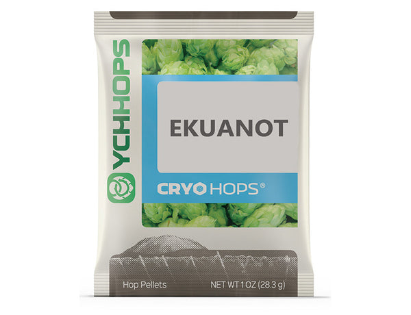 CRYO HOPS LUPULN2 PELLETS (LUPULIN POWDER) - EKUANOT (EQUINOX)  - 1 OZ