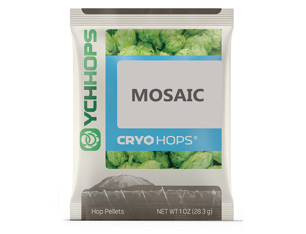 CRYO HOPS LUPULN2 PELLETS (LUPULIN POWDER) - MOSAIC  - 1 OZ