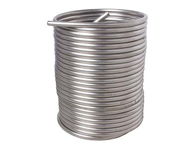 STAINLESS DRAFT COIL FOR JOCKEY BOX