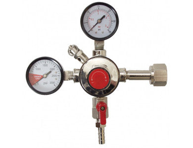 REGULATOR - ECONOMY DUAL GAUGE CO2