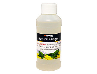 GINGER FLAVORING EXTRACT (4 OZ)