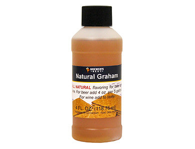 GRAHAM FLAVORING EXTRACT (4 OZ)