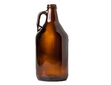 AMBER GLASS GROWLER  (64 OZ)