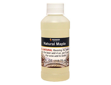 MAPLE FLAVORING EXTRACT (4 OZ)