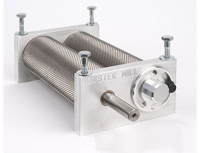 "MONSTER MILL MM2PRO - 1/2"" DRIVE SHAFT AND BASE/HOPPER"
