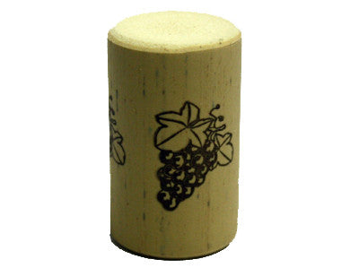 CORK - 9 X 1-1/2 NOMACORC PRINTED CORKS (30/BAG)