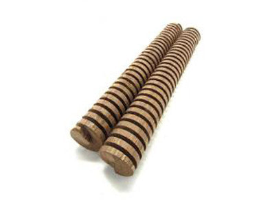 "OAK SPIRALS - 8"" 2/PACK - FRENCH HEAVY TOAST"