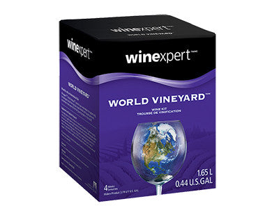 WORLD VINEYARD ITALIAN PINOT GRIGIO WINE KIT (1 GALLON)
