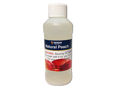 PEACH FLAVORING EXTRACT (4 OZ)