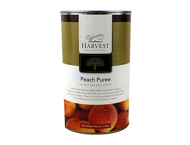 VINTNER'S HARVEST PEACH FRUIT PUREE (49 OZ)