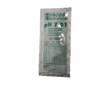 PH METER BUFFER SOLUTION FOR PH 7.01 (20mL PACK)