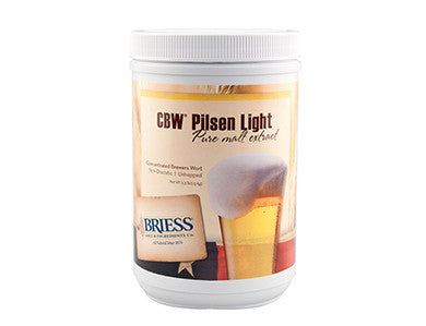 BRIESS PILSEN LIGHT LME (3.3 LB)