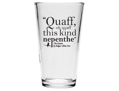 PINT GLASS - QUAFF OH QUAFF