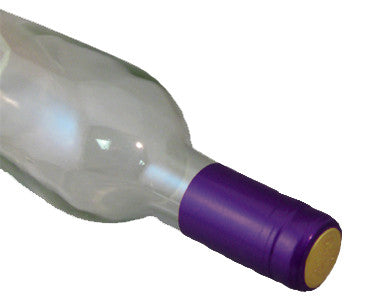 PVC SHRINK CAPSULES - PURPLE (30/BAG)