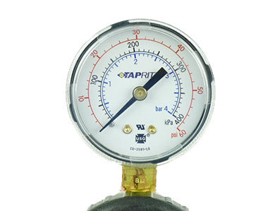 SPARE PRESSURE GAUGE FOR REGULATOR 60 LB - RIGHT HAND THREADS