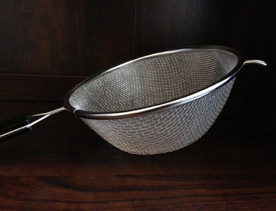 STRAINER - SS DOUBLE MESH 10""