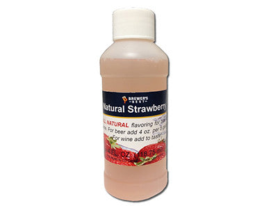 STRAWBERRY FLAVORING EXTRACT (4 OZ)