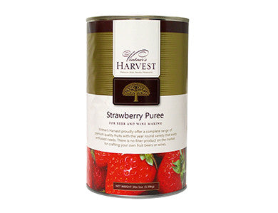 VINTNER'S HARVEST STRAWBERRY FRUIT PUREE (49 OZ)