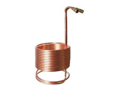 "WORT CHILLER - SUPERCHILLER FOR LARGE KETTLES (50' x 1/2"" with Brass Fittings)"