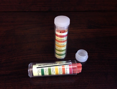 pH PAPERS UNIVERSAL RANGE 2.0-10.0 (100/VIAL)