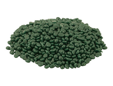 BOTTLE SEAL WAX BEADS - GREEN (1 LB)