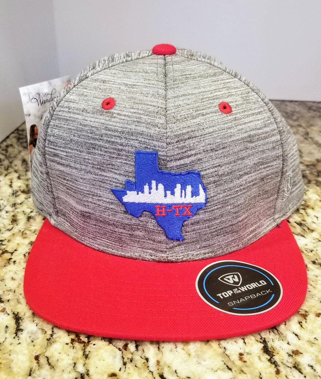 Houston Texas Flatbill Flat Bil Snapback hat