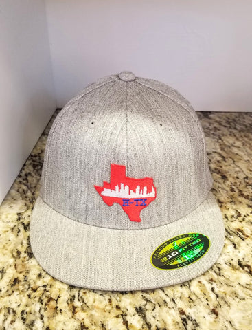 Houston Texans Red Flat bill Hat
