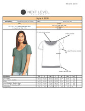 Load image into Gallery viewer, Next Level Scoop Neck for Rodeo Shirt