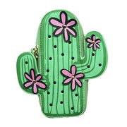 Cute Vegan Leather Cactus Purse