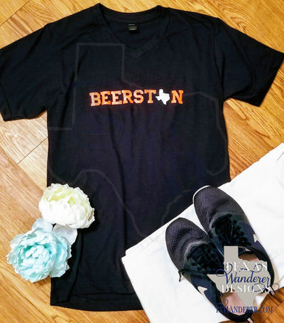 Beerston Houston Texas Beer Shirt