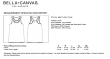 Load image into Gallery viewer, Bella Canvas Flowy Tank top sizing and fit